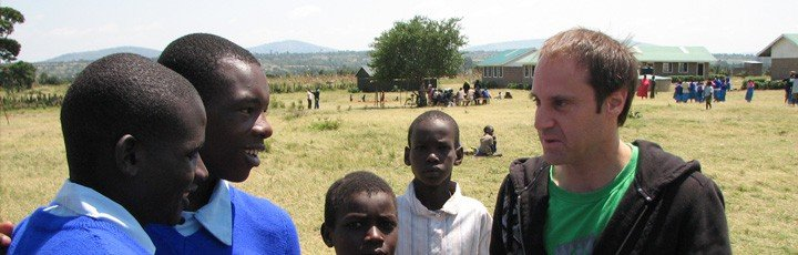 Skoll Helping Kids in Kenya