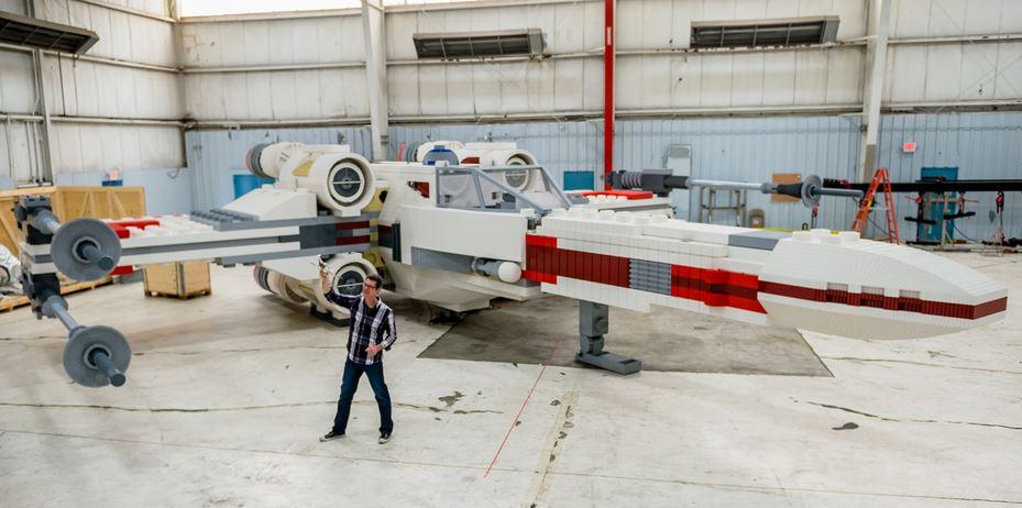 Life Sized Lego X-Wing
