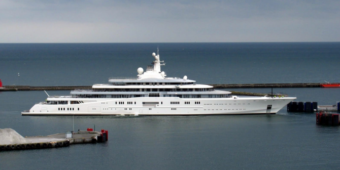 Eclipse - $800 Million Yacht