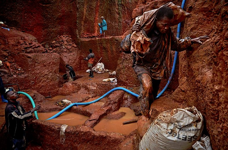 Angolan Diamond Mine