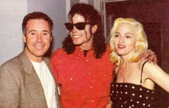Geffen, Michael Jackson and Madonna