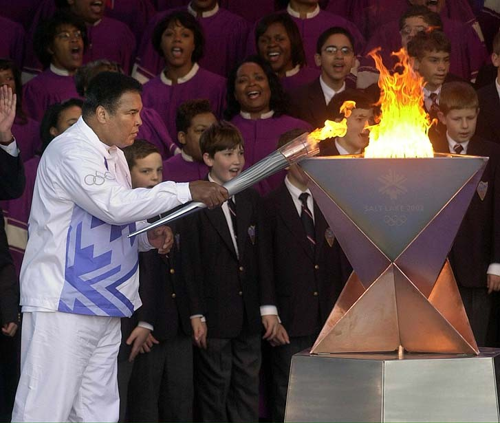 OLYMPICS-TORCH-ALI-CORRECTION