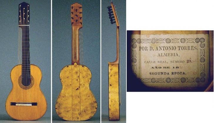 Antonio de Torres - Guitar