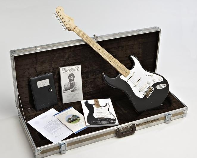 "Fender Stratocaster - ""Blackie"" - Guitar"