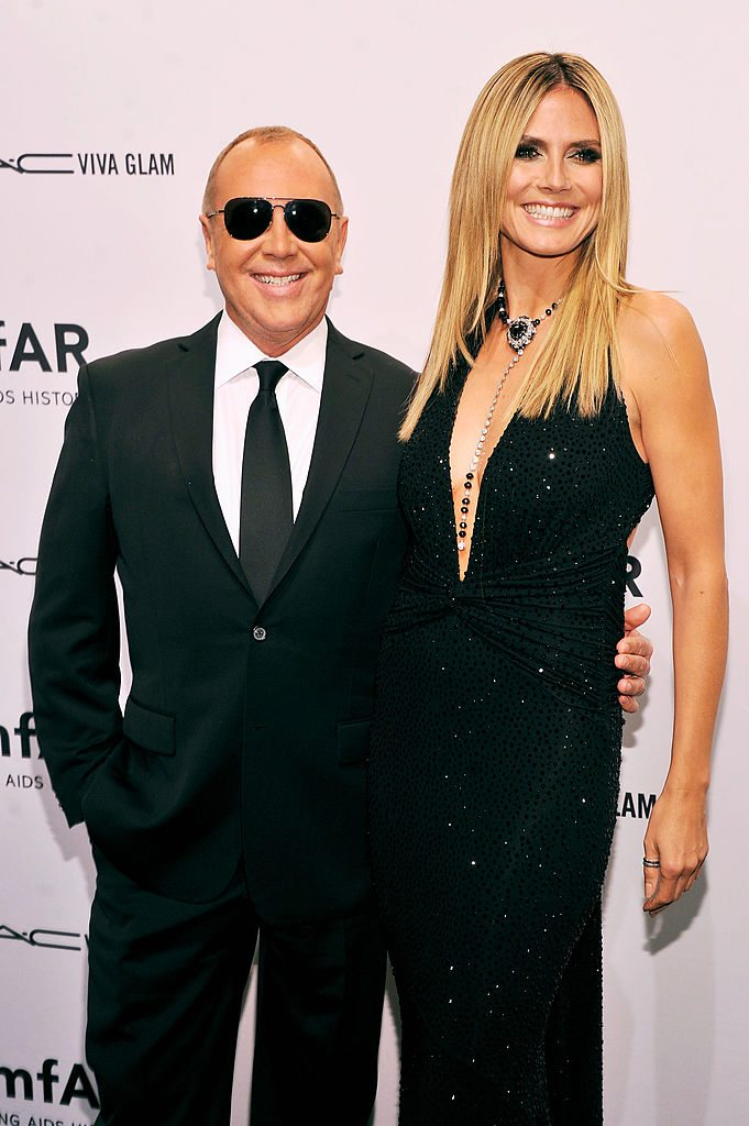Michael Kors and Heidi Klum