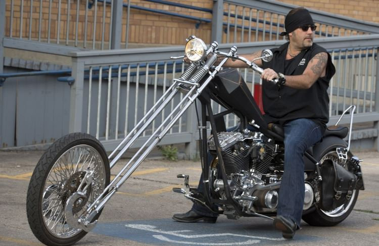 Danny Koker Custom Bike