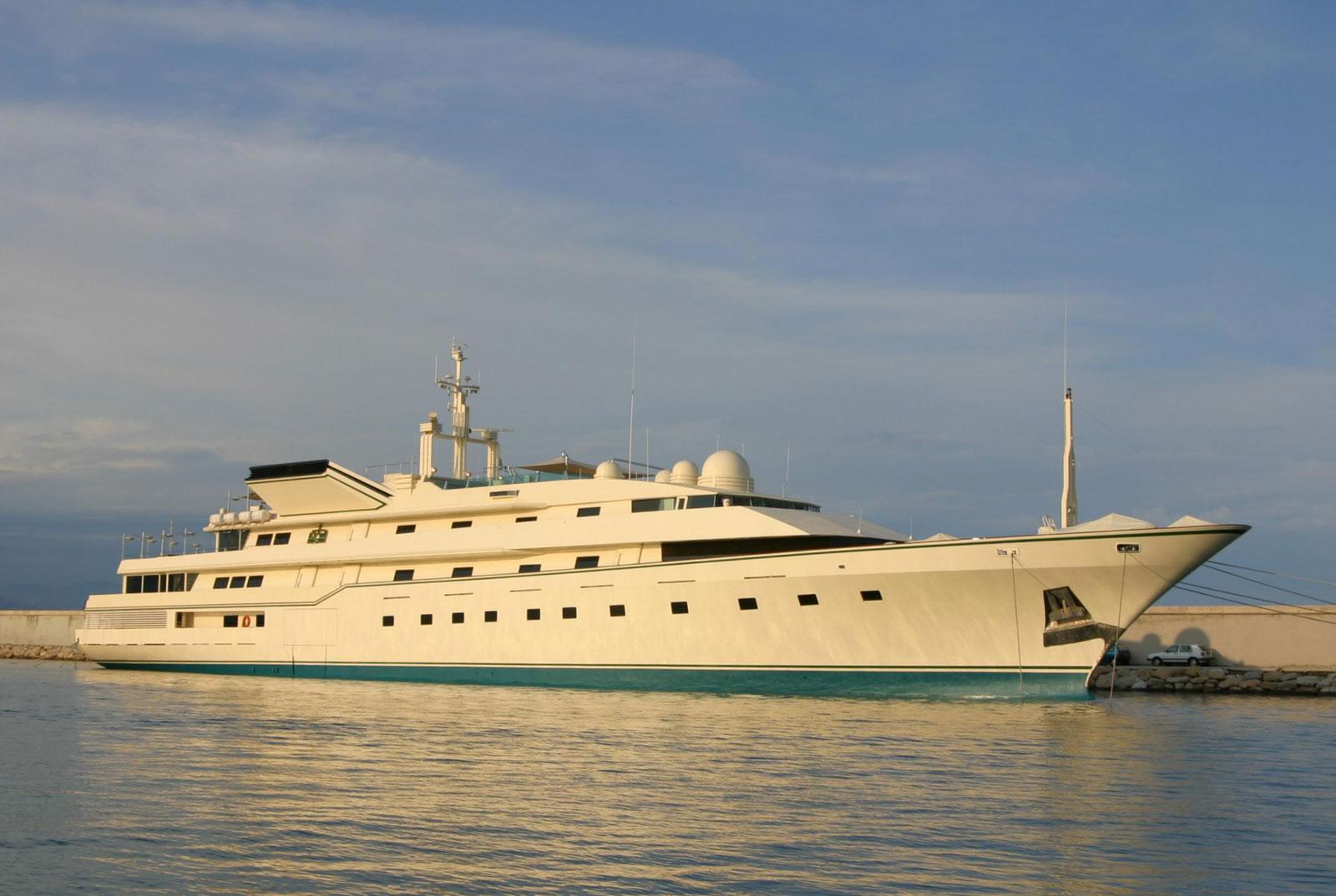 Prince Al-Waleed Bin Talal's Yacht.