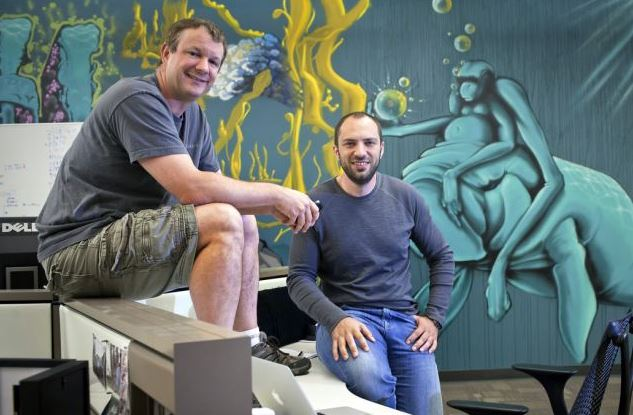 Brian Acton and Jan Koum