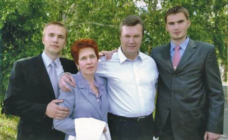 The Yanukovych Family