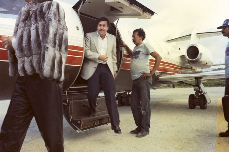Pablo Escobar Private Jet