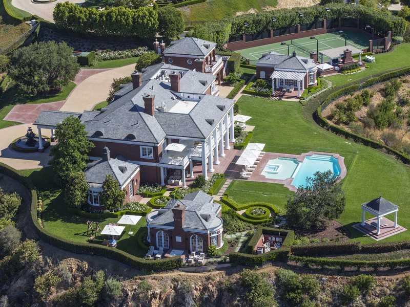 Lenny's $18 Million Mansion