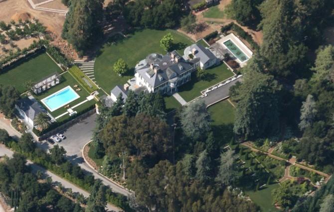 Masayoshi Son California Mansion