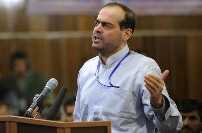 Mahafarid Amir Khosravi at his Trial