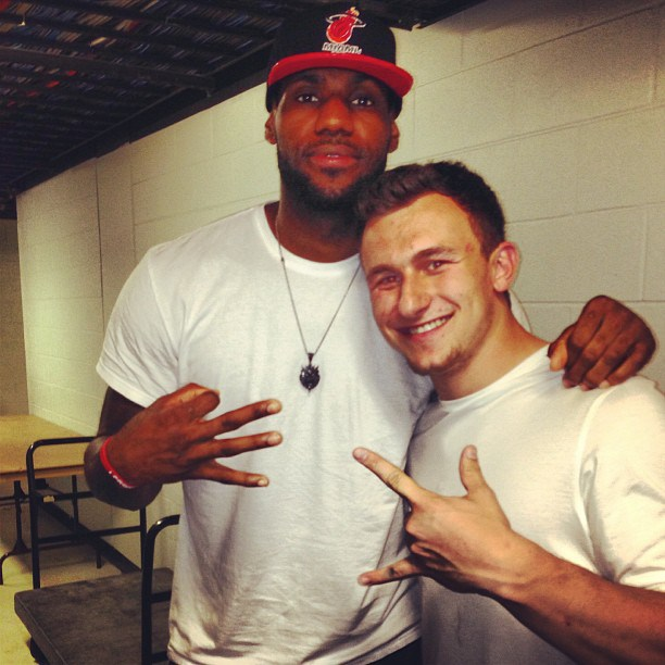 LeBron and Johnny