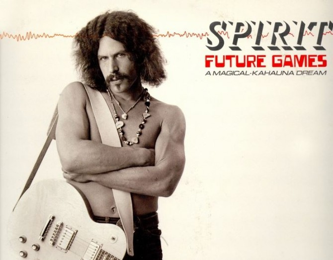 Randy California - Spirit Album Cover