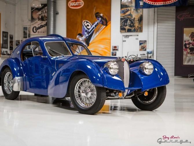 Bugatti's Type 57 Atlantic SC