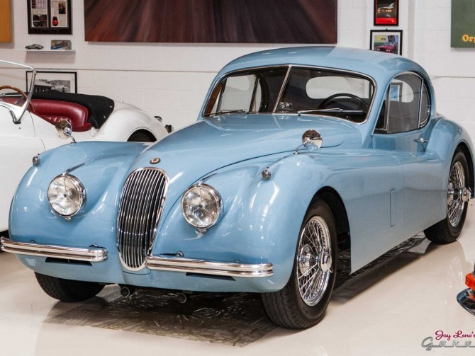 1954 Jaguar XK120M Coupe