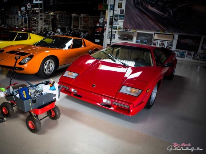 jay leno 39 s garage the coolest and most unique cars in. Black Bedroom Furniture Sets. Home Design Ideas