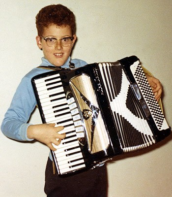 Young Al Yankovic with Accordion