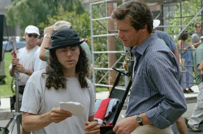 Tom Shadyac and Jim Carrey