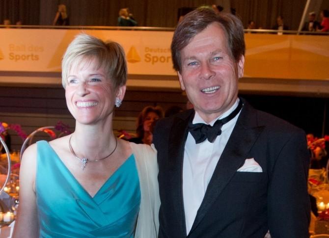 Susanne and Jan Klatten