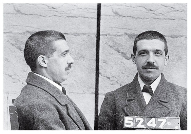 Charles Ponzi's Mug Shot