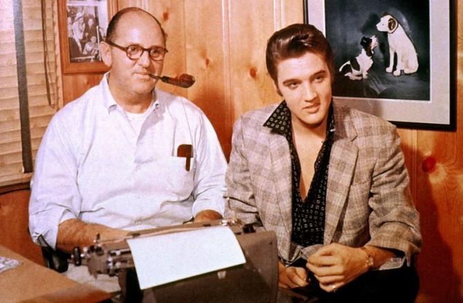 Tom Parker and Elvis