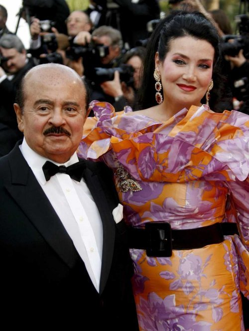 Adnan Khashoggi and Soraya Khashoggi