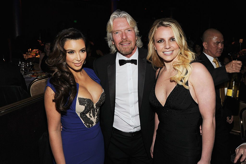 Richard Branson, Kim and Britney