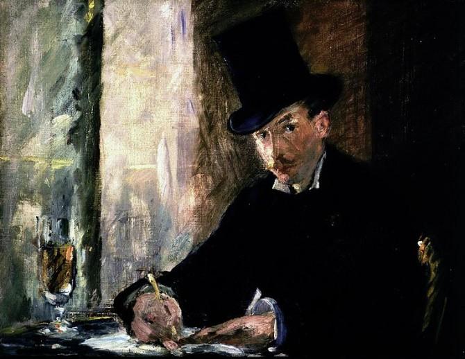 "Manet's ""Chez Tortoni"""