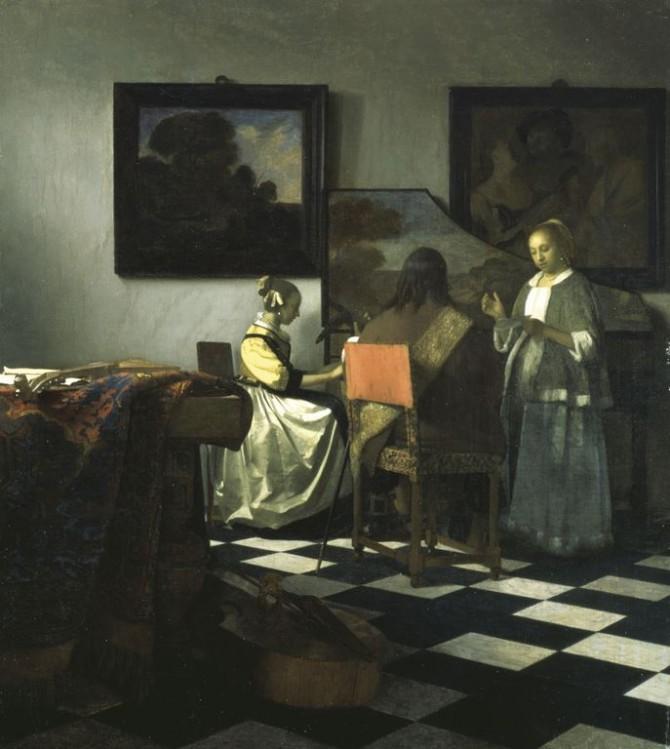 """Vermeer's """"The Concert"""""""
