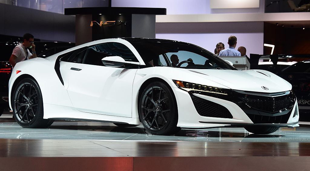 The Brand New Acura Nsx Is Faster Than Ever Celebrity
