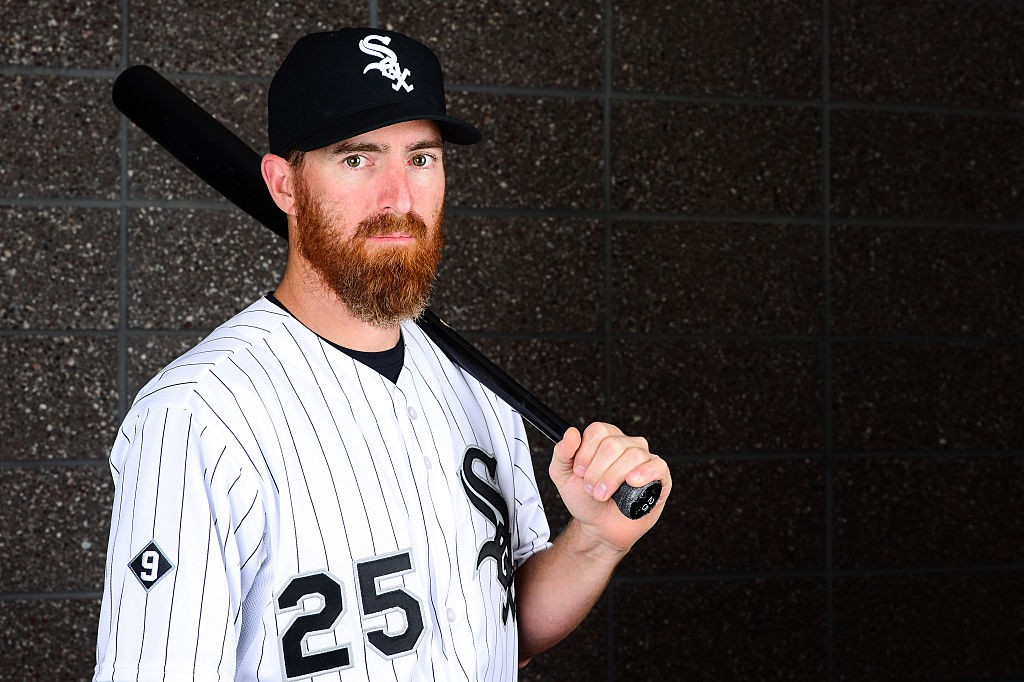 GLENDALE, AZ - FEBRUARY 27: Infielder Adam LaRoche #25 of the Chicago White Sox poses for a portrait during spring training photo day at Camelback Ranch on February 27, 2016 in Glendale, Arizona. (Photo by Jennifer Stewart/Getty Images)
