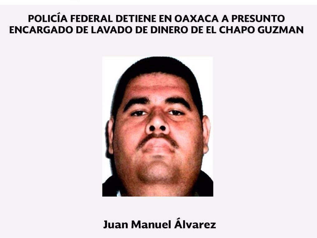 Photo via Mexican Federal Police
