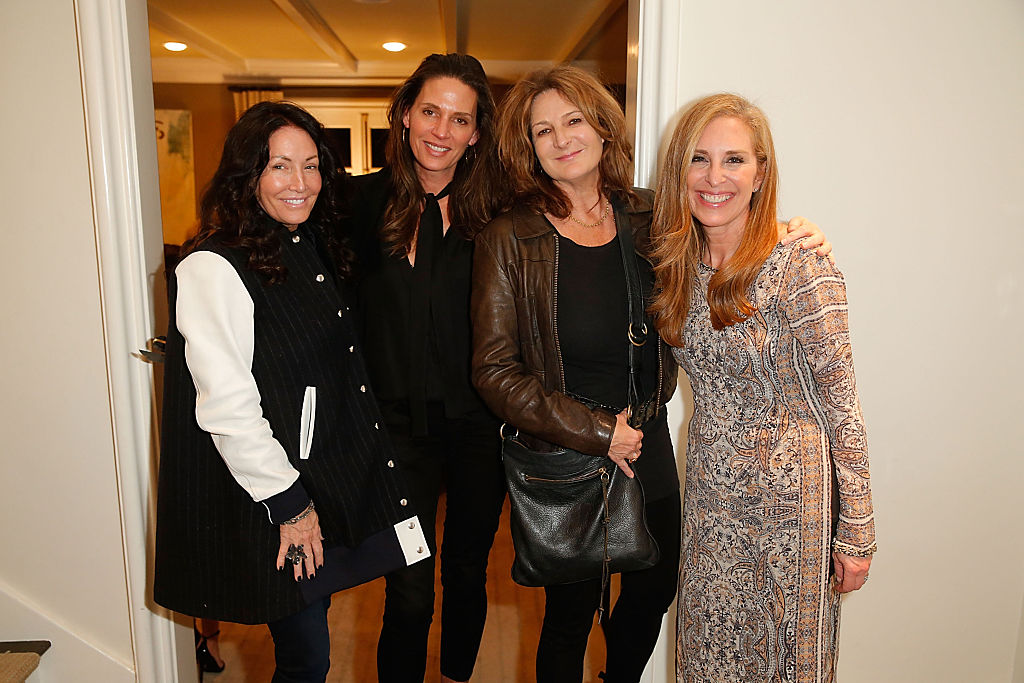 Susan Feldman (far right, Getty)