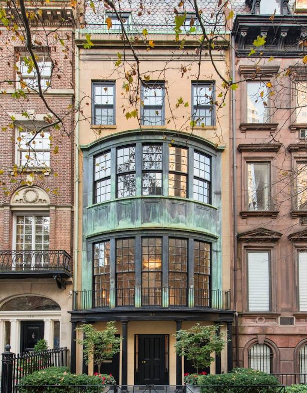 This nyc townhouse just sold at a 12m discount myinforms for Nyc townhouse with garage