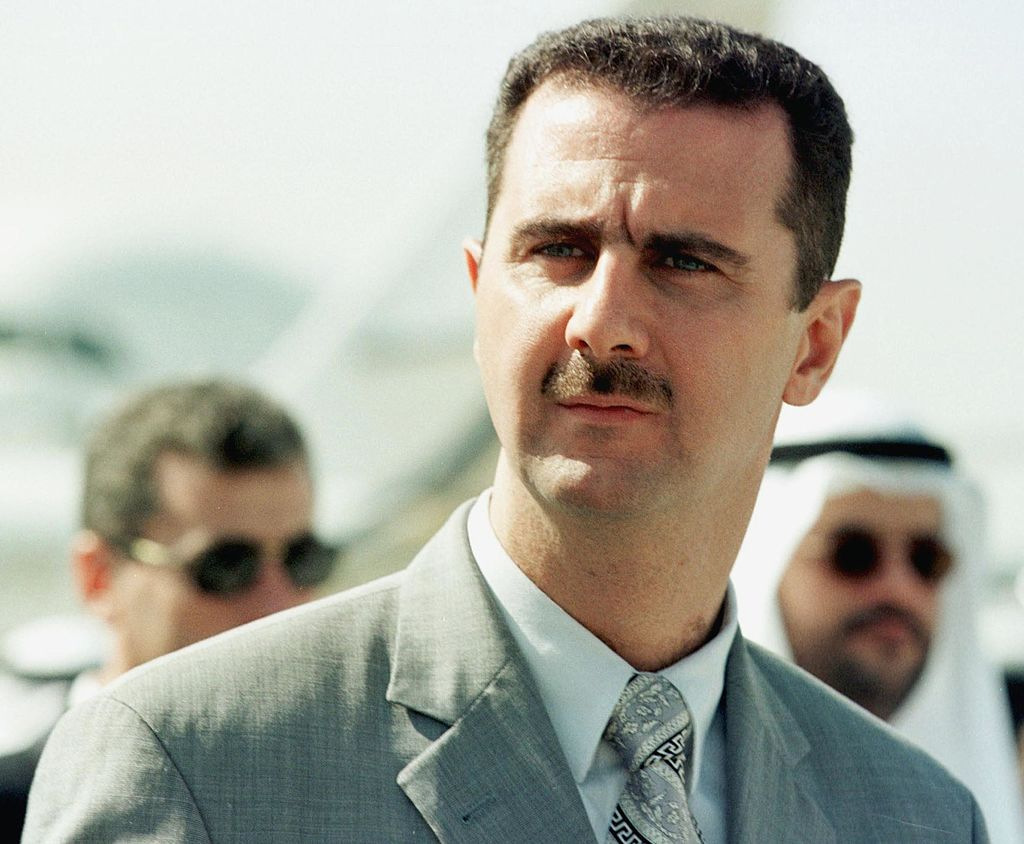 Syrian President Assad Claims That the Chemical Attacks Were a