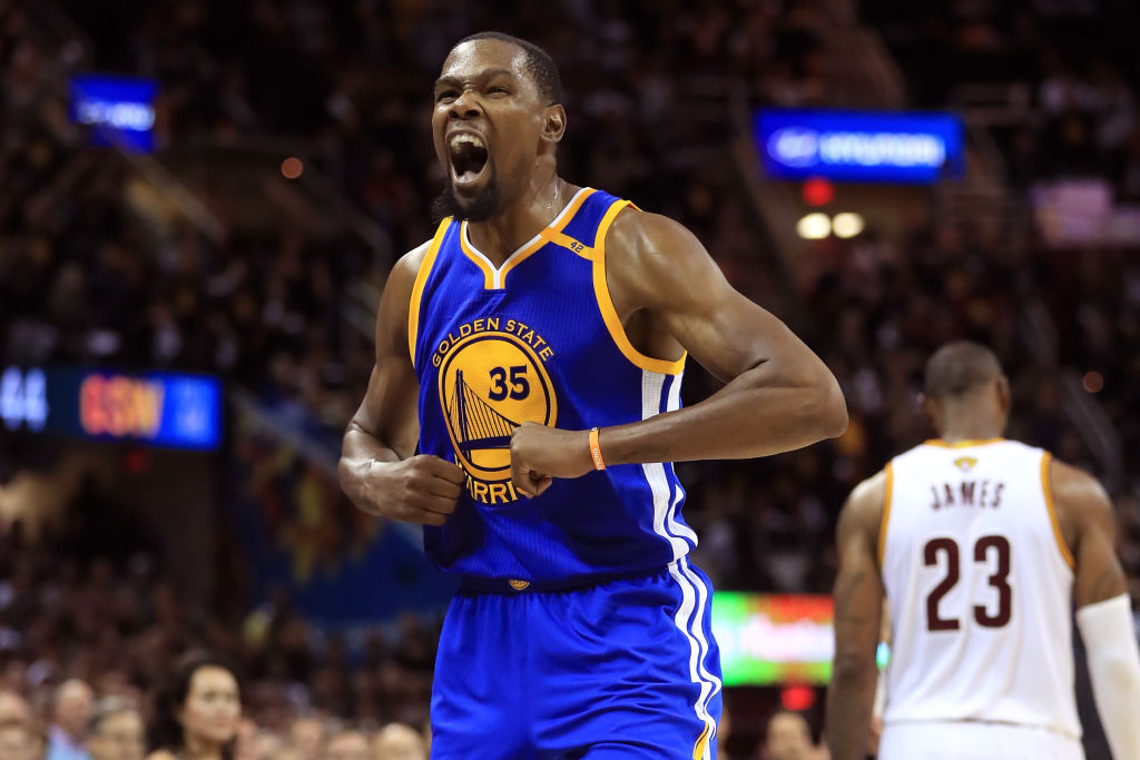 Kevin Durant, Stephen Curry lead Warriors to National Basketball Association title