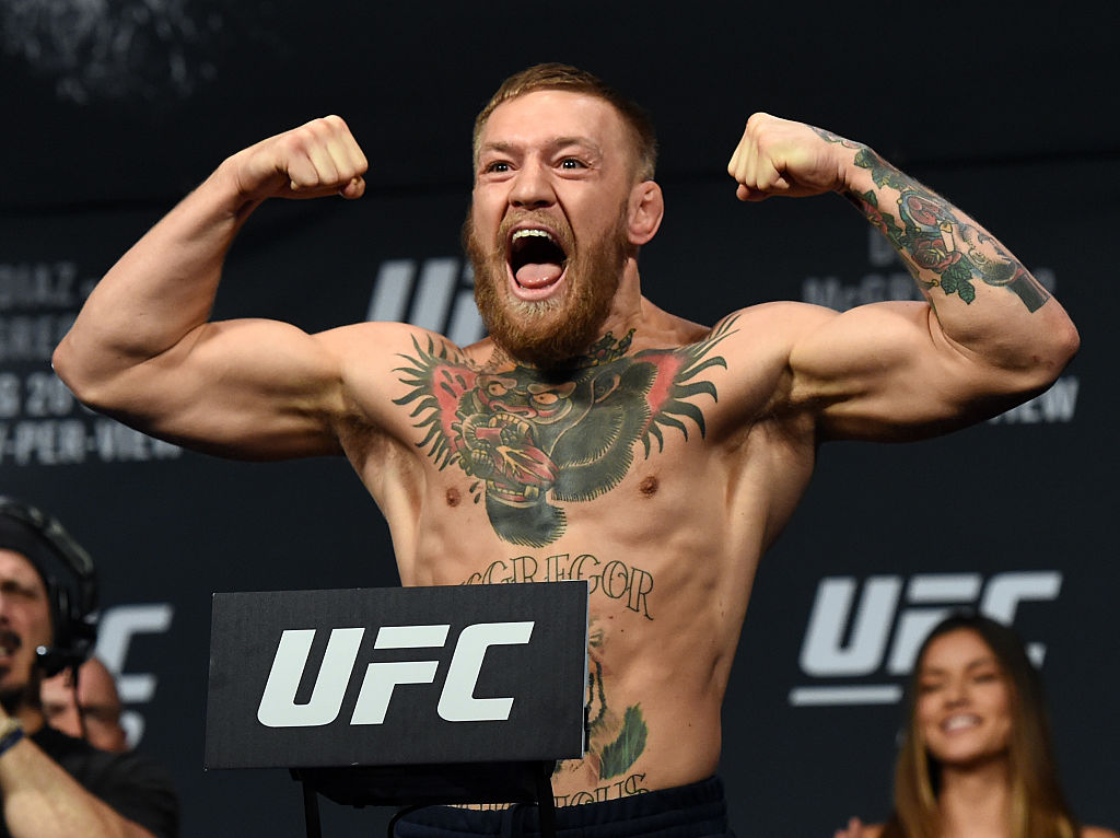 UFC stars excited about McGregor vs Mayweather fight