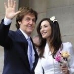 Paul McCartney and Nancy Shevell Married in London