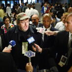Denver Reporter Confronts Michael Moore about $50 Million Net Worth