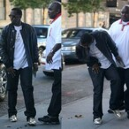 P Diddy Steps in Dog Poop - Caption Contest!