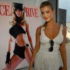 Joanna Krupa Washes Ferrari in A Bikini