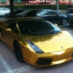 Gold Cars:  The Chinese Noveau Riche Flaunt Their Wealth