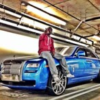 Ray J's Car:  The Singer-Actor Steps Out in a Rolls Royce Ghost