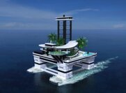 If A Private Yacht Is Not Good Enough For You, Why Not Try A Private Floating Island???