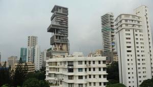 "Thumbnail for 12 Stunning Facts About Mukesh Ambani's Billion Dollar Mumbai Mansion ""Antilia"""