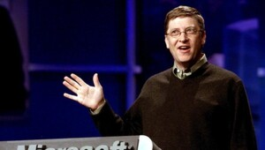 Thumbnail for The Moment In 1999 When Bill Gates' Net Worth Briefly Topped $140 Billion