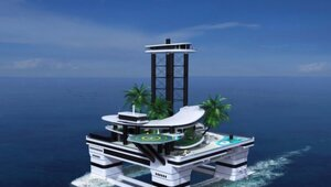 Thumbnail for If A Private Yacht Is Not Good Enough For You, Why Not Try A Private Floating Island???