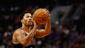 Thumbnail for Derrick Rose Is Basically Just Stealing Money From The Bulls Now
